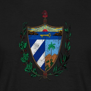 Cuban Coat of Arms Cuba Symbol - Men's T-Shirt