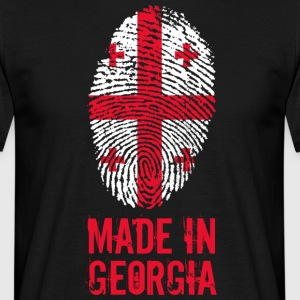 Made in Georgia / Gemacht in Georgien საქართველო - Männer T-Shirt