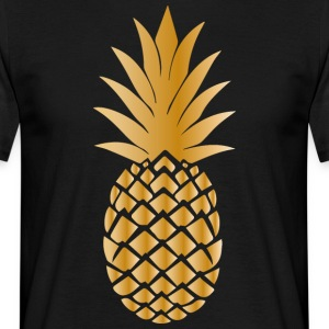 Golden ananas - Mannen T-shirt