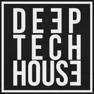 Deep Tech House by HouseMixRoom RadioShow - Men's T-Shirt