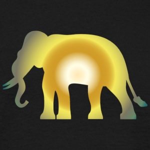 Big shining Elephant - Männer T-Shirt