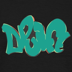 drift graffiti groen - Mannen T-shirt