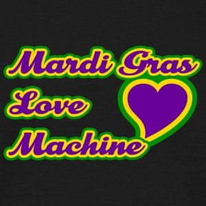 Karneval Love Machine - Männer T-Shirt