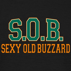 SOB Sexy Old Buzzard - T-shirt herr
