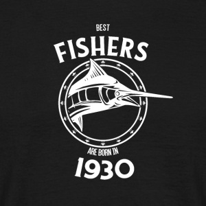 Present for fishers born in 1930 - Men's T-Shirt