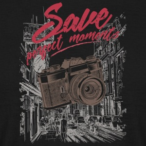save perfect moments - Men's T-Shirt