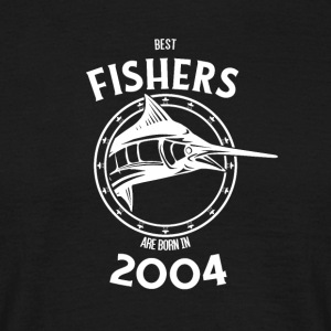 Present for fishers born in 2004 - Men's T-Shirt