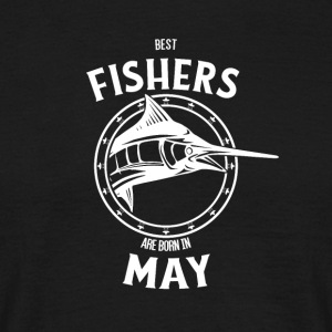 Present for fishers born in May - Men's T-Shirt