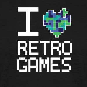 Retro Game Love - Men's T-Shirt