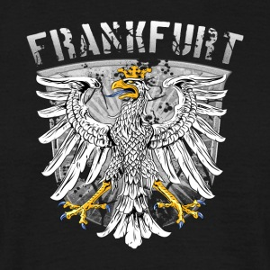 Frankfurt city Wappenadler Design Silver Edition - Men's T-Shirt