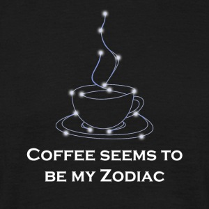 Zodiac Coffee - T-shirt herr