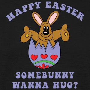 Happy Easter Somebunny Want A Hug - Men's T-Shirt