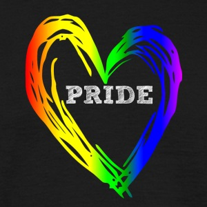 PRIDE HEART - T-skjorte for menn