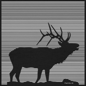 Lines | Deer - T-skjorte for menn