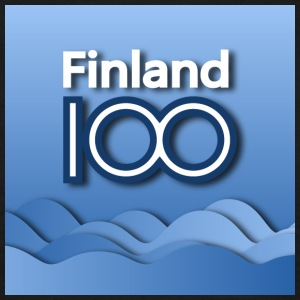 Finland 100 years of independence - Men's T-Shirt