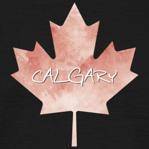 Maple Leaf Calgary - Mannen T-shirt
