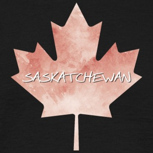 Saskatchewan Maple Leaf - T-shirt herr