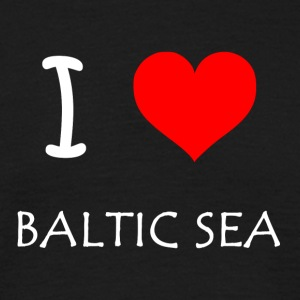 I Love Baltic Sea - Men's T-Shirt