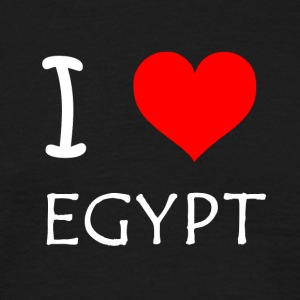 I Love Egypt - Men's T-Shirt