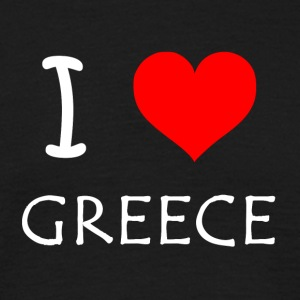 I Love Greece - T-shirt Homme