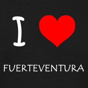 I Love Fuerteventura - Men's T-Shirt