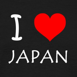 I Love JAPAN - T-skjorte for menn