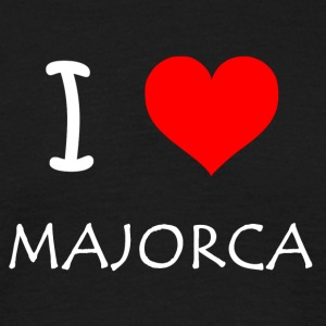 I Love Mallorca - T-skjorte for menn