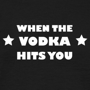 VODKA - T-shirt herr