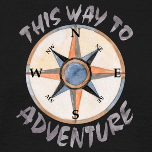 Aventure This Way - T-shirt Homme