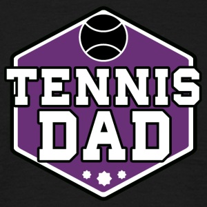 tennis pappa - T-skjorte for menn