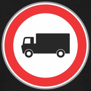 Road sign truck - Men's T-Shirt