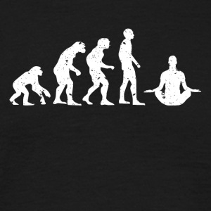 EVOLUTION BUDDHA! - Herre-T-shirt