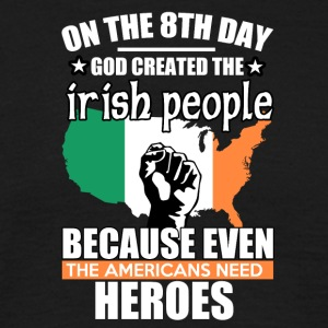 irish heros - Mannen T-shirt