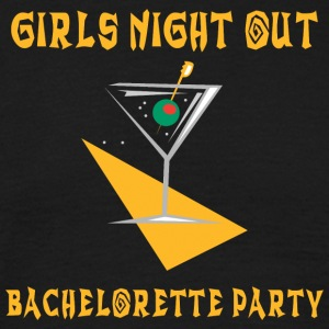 Bachelorette Party Girls Night Out - T-shirt Homme