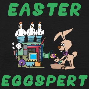 Easter Eggspert - Men's T-Shirt