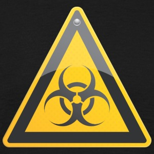 Road sign biohazard - Men's T-Shirt