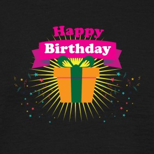 Happy Birthday - Männer T-Shirt