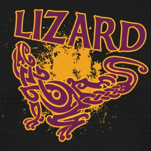 Cool tribal lizard - Men's T-Shirt