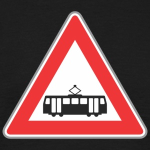 Road sign train rouge - T-shirt Homme
