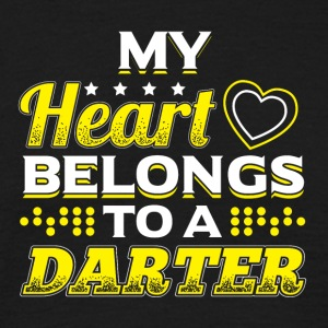 My Heart Belongs To A Darter - Men's T-Shirt