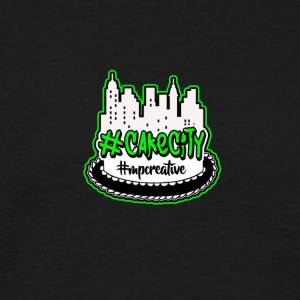 Cake_City_Logo - T-skjorte for menn