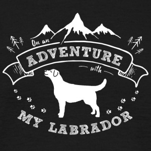 It is an adventure - Men's T-Shirt