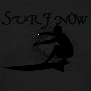 surf nu 3 sort - Herre-T-shirt