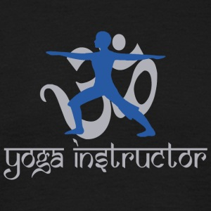 Instructeur van de yoga - Mannen T-shirt