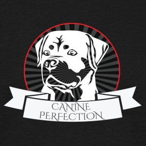 Dog / Rottweiler: Canine Perfection - T-shirt herr