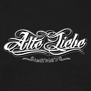 Alte_Liebe_Spreadshirtsize_white - T-skjorte for menn