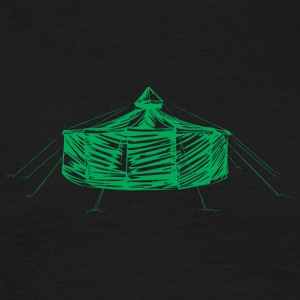 jurte_green - Men's T-Shirt