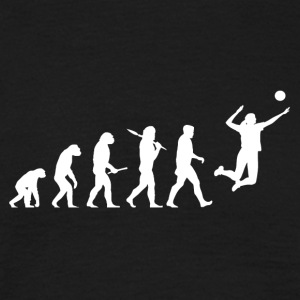 Evolution Volleyball Woman Sport funny - Men's T-Shirt