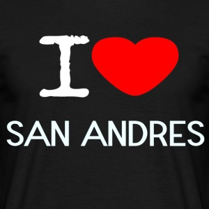 I LOVE SAN ANDRES - Men's T-Shirt