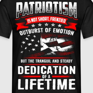 PATRIOTISM - Men's T-Shirt